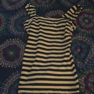 Striped Express tank top